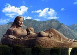 雕塑——黄河母亲