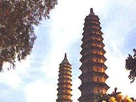 华池双塔寺