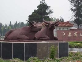 洪泽湖镇水铁牛