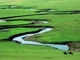 九曲回溯-錫林河