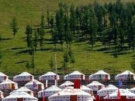 兴安蒙古包旅游村