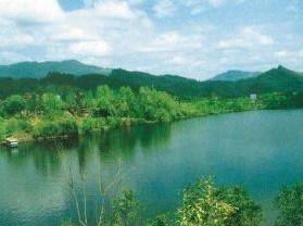 巴州莲花湖风景旅游区