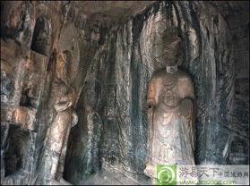 龙门洞石窟